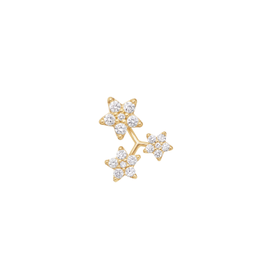 Orecchino 3 Shooting Stars