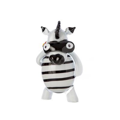 "Pupi Pop Art ""Thieving Zebra"""