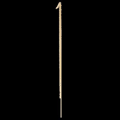 Pendente per orecchino in oro giallo e rosa 18 carati