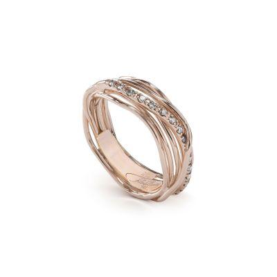 Filodellavita Classic 7 fili in Oro Rosa e Diamanti
